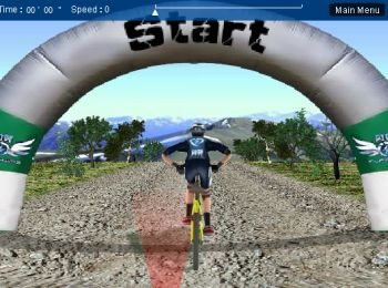 3D Mountain Bike (флеш игра)