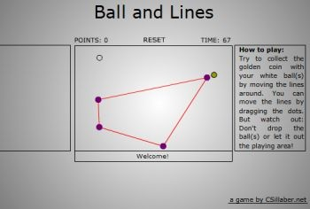 Ball And Lines (флеш игра)