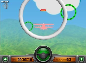 Flight 3D Aerobatics Training (флеш игра)