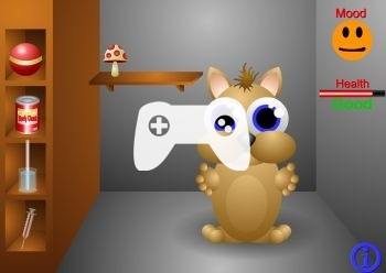Loking For Squeek (флеш игра)