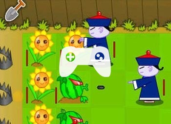 Plant And Zombie Small War 2 (флеш игра)