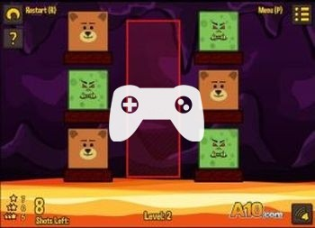 Teddies And Monsters (флеш игра)