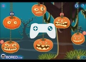 Catch The Candy Halloween (флеш игра)