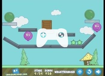 Ballooner New Adventures (флеш игра)