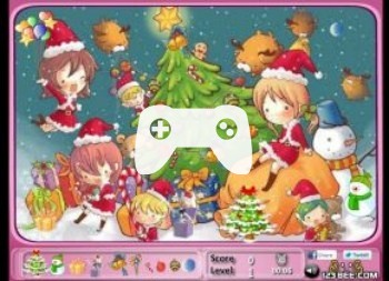 Find The Christmas Objects (флеш игра)