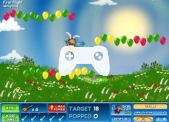 Bloons 2 Spring Fling (флеш игра)