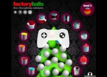 Factory Balls The Christmas Edition (флеш игра)