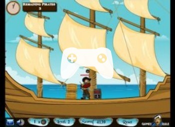 Pirates Attack (флеш игра)