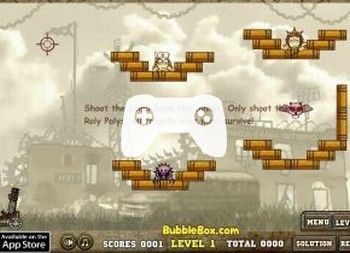 Roly Poly Cannon 3 (флеш игра)