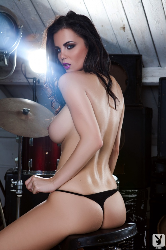 Messy Emma Glover In Getting Cheeky Playboy Amateur Pictorial Photos 1