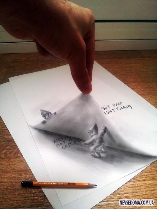 Mind blowing 3d pencil drawings