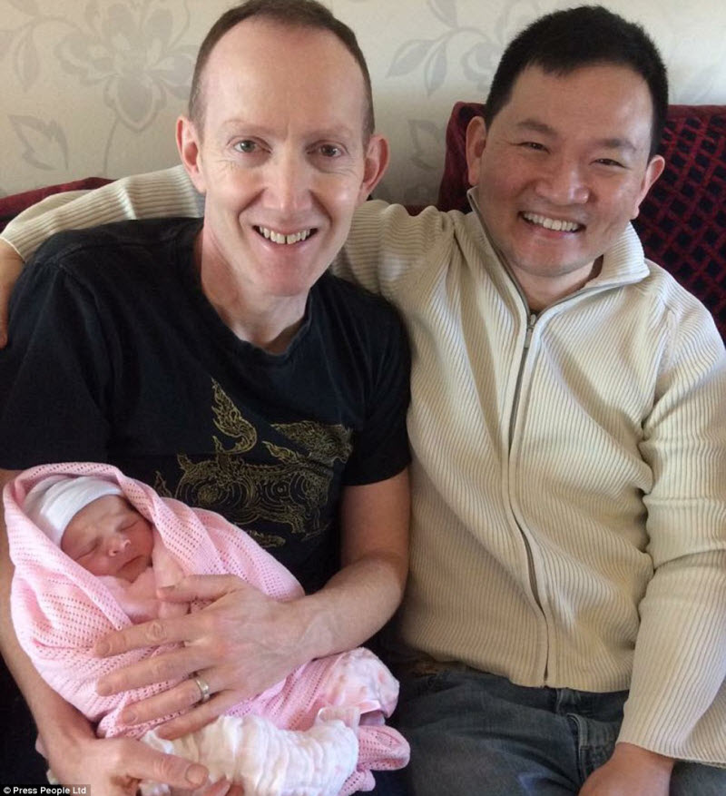 Gay Couple Make History as Both Father Triplets