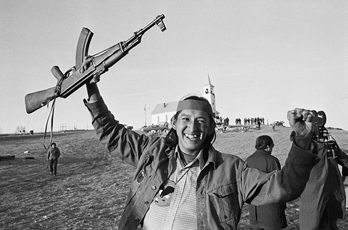 an analysis of the protest of 1973 in wounded knee on the indian pine ridge reservation in south dak