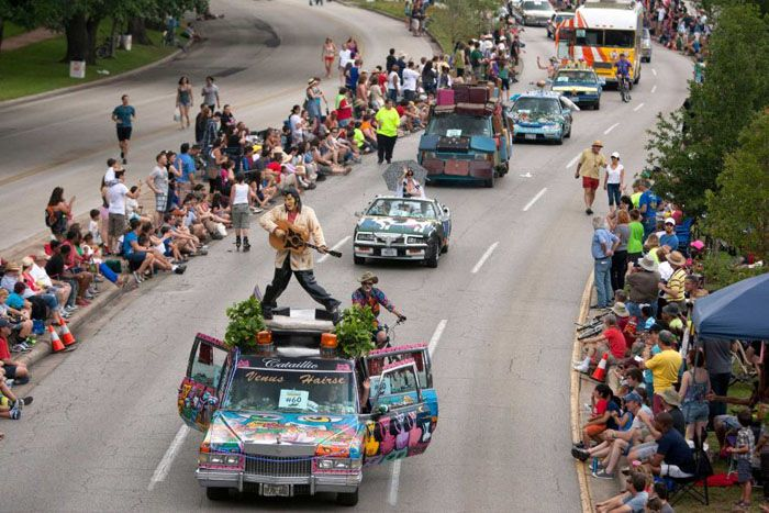 ����, �������, art car parade