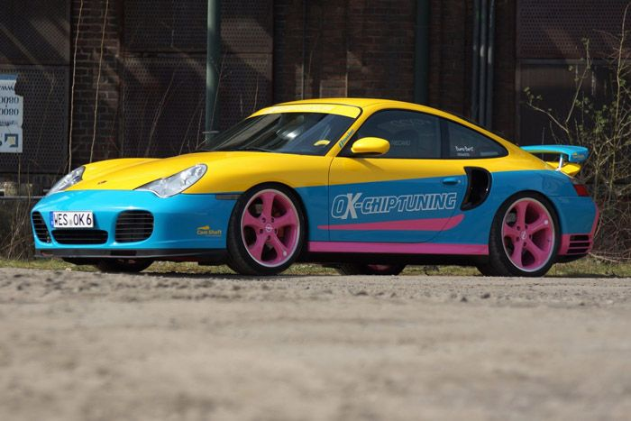 ����, porsche 911 turbo, ok-chiptuning