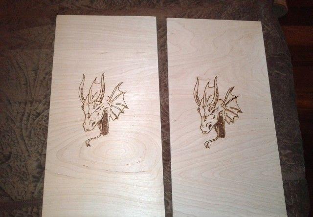 Сделать драконов своими руками